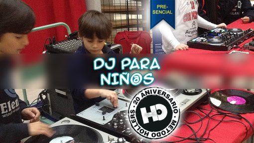 Curso DJ para niños Metodo Hollers