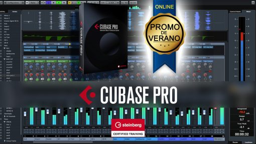 Curso Cubase Online Promo Verano
